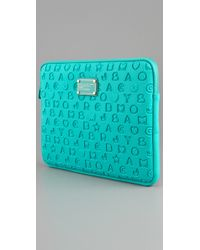 Marc By Marc Jacobs | Blue Stardust 13 Neoprene Computer Case | Lyst