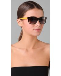 Marc By Marc Jacobs - Black Logo Jumble Sunglasses - Lyst