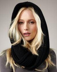Marc By Marc Jacobs - Uma Knit Snood, Black - Lyst