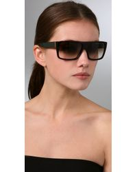 Marc By Marc Jacobs - Natural Side Stripe Sunglasses - Lyst