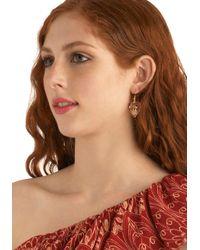ModCloth - Multicolor Lovebird Earrings - Lyst