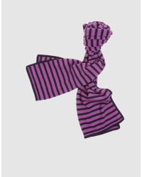 Paul Smith | Blue Oblong Scarf for Men | Lyst