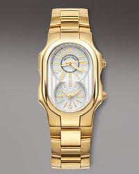 Philip Stein - Metallic Classic Bracelet Watch, Golden for Men - Lyst