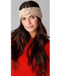 Rag & Bone | Natural Scarborough Headband | Lyst