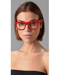 Retrosuperfuture   Red Ciccio Glasses   Lyst