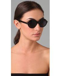 Tom Ford - Black Round Sunglasses - Lyst