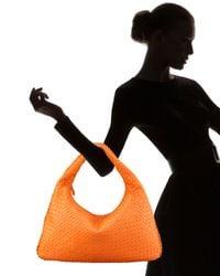 Bottega Veneta | Orange Veneta Large Hobo, Fire Opal | Lyst