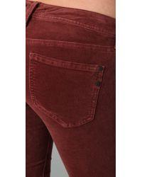 Genetic Denim | Red Shane Cigarette Pants | Lyst