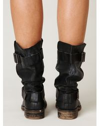 Free People - Black Darcy Boot - Lyst