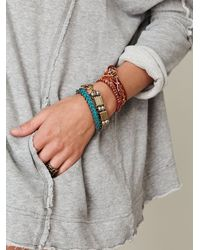 Free People - Gray Solid French Terry Cardigan - Lyst