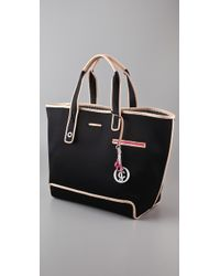 Juicy Couture | Black Nora Beach Tote | Lyst