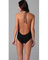 Tori Praver Swimwear - Black Kelly One Piece - Lyst