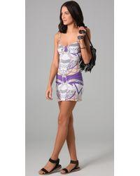 Mara Hoffman | Purple Stretch Modal Dress | Lyst
