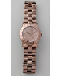 Marc By Marc Jacobs - Brown Amy Watch - Lyst