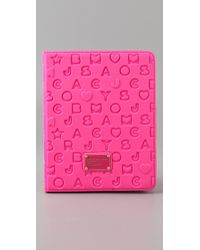 Marc By Marc Jacobs - Pink Stardust Neoprene Ipad Cover - Lyst