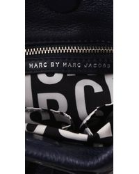 Marc By Marc Jacobs | Black Classic Q Mini Hillier Hobo | Lyst