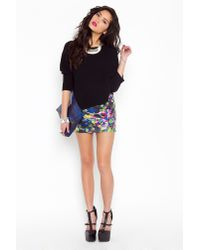 Nasty Gal | Pink Puzzled Sequin Skirt | Lyst
