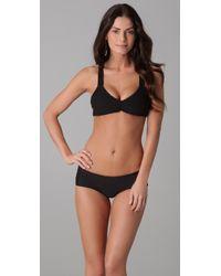 Tori Praver Swimwear | Black Malia Bikini Top | Lyst