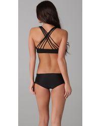 Tori Praver Swimwear - Black Malia Bikini Top - Lyst