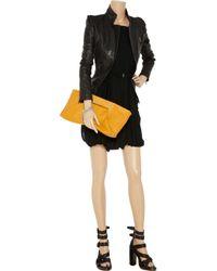 A.L.C. - Black Monica Layered Jersey Dress - Lyst