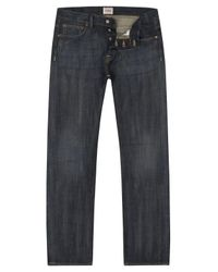 Edwin | Ed-71 Slim Fit Dirty Blue Jeans for Men | Lyst