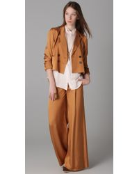 Elizabeth and James | Brown Evelyn Trousers | Lyst