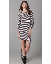 Elizabeth and James | Blue Striped Claudia Dress | Lyst