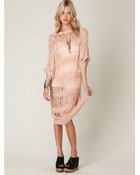 Free People | Pink Valhala Dress | Lyst