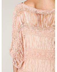 Free People - Pink Valhala Dress - Lyst