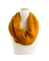 Madewell | Orange First Frost Circle Scarf | Lyst