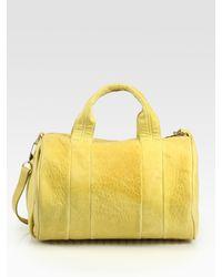 Alexander Wang | Yellow Shoulder Bag | Lyst