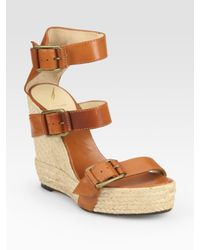 B Brian Atwood | Brown Delice Sandal | Lyst