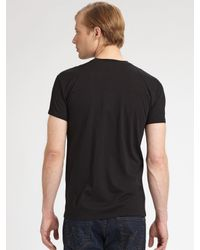 Dior Homme - Black Short Sleeve T-Shirt for Men - Lyst