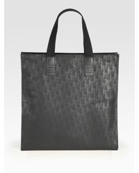 Dior Homme | Black Shade Line Tote for Men | Lyst