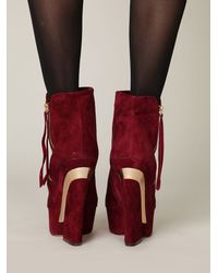 Free People - Purple Boheme Platform Boot - Lyst