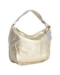 Furla | Metallic Star Gold Leather Hope Shoulder Bag | Lyst