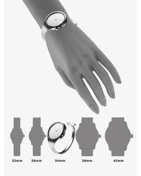 Georg Jensen - Gray Stainless Steel Bangle Watch - Lyst
