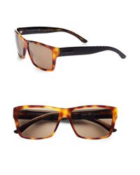 Gucci | Brown Tortoise-shell Sunglasses for Men | Lyst