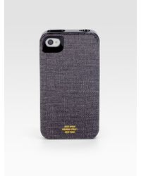 Jack Spade | Gray Hard-shell Case For Iphone 4/canvas for Men | Lyst