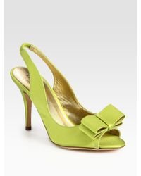 kate spade new york | Green High Heel Shoes | Lyst