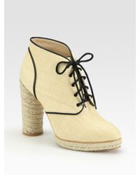 Loeffler Randall | Natural Ankle Boots | Lyst