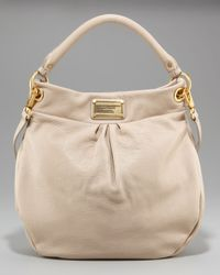 Marc By Marc Jacobs | Natural Classic Q Hillier Hobo | Lyst