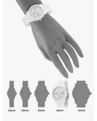 Michael Kors | White Ceramic Chronograph Watch | Lyst
