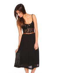 Nasty Gal - Black Boudoir Lace Dress - Lyst