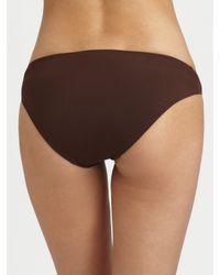 Natori | Brown Dragon Bandeau Bikini Top | Lyst