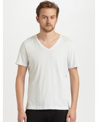Number:lab | White Short Sleeve T-Shirt for Men | Lyst