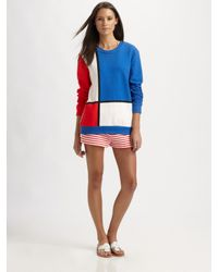 Pret-a-surf | Red Striped Terry Shorts | Lyst