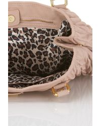 TOPSHOP - Natural Rouched Roxanne Bag By Pauls Boutique** - Lyst