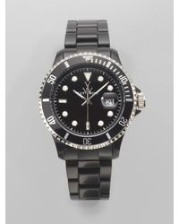 Toy Watch | Black Plasteramic Watch | Lyst