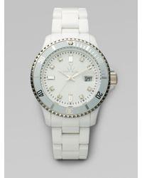 Toy Watch | White Plasteramic Watch | Lyst
